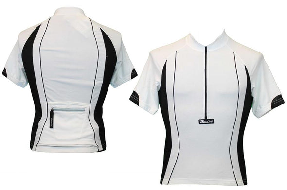 Santini White Cycling Jersey - Classic Cycling