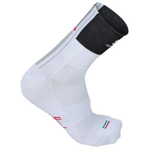 Sportful Gruppetto Sock 12cm - Black White - Classic Cycling