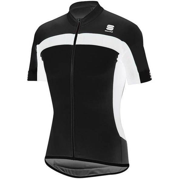 Sportful Pista Cycling Jersey - Black White - Classic Cycling