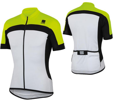 Sportful Pista Cycling Jersey - Fluorescent Yellow - Classic Cycling