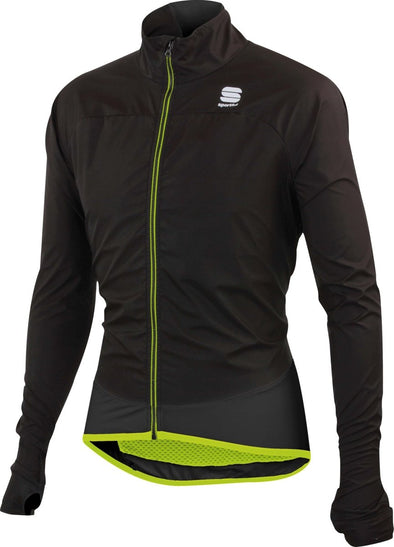 Sportful Ultra Light WS Jacket - black-yellow fluo - Classic Cycling
