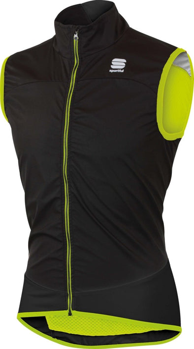 Sportful Ultra Light WS Vest  -  black-yellow fluo - Classic Cycling