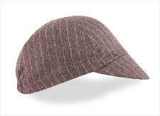 Walz Grey Pin Stripe Wool Cycling Cap - Classic Cycling