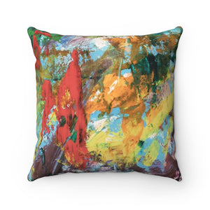 Square Pillow - Power - Liyri Art