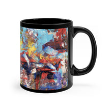 Load image into Gallery viewer, Black mug - Power - Liyri Art