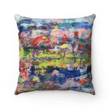 Load image into Gallery viewer, Square Pillow - Spirit - Liyri Art