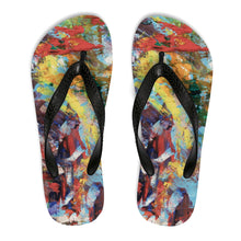 Load image into Gallery viewer, Flip-Flops - Power - Liyri Art