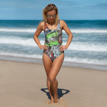 Load image into Gallery viewer, One-Piece Swimsuit - Motion - Liyri Art