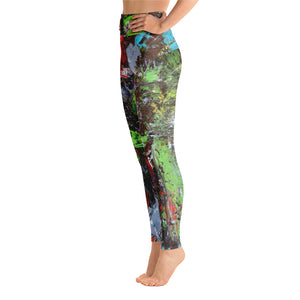 Yoga Leggings - Motion - Liyri Art