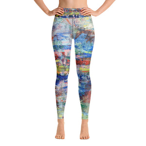 Yoga Leggings - Spirit - Liyri Art
