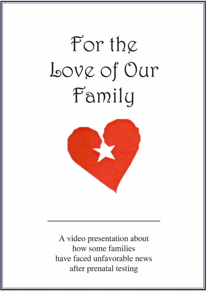 For The Love Of Our Family - DVD