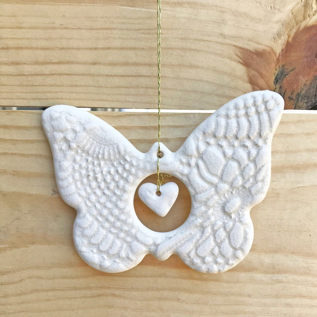 Singing Butterfly Ornament