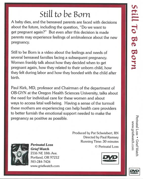 Still To Be Born DVD