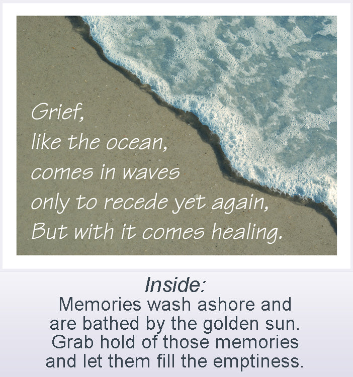Grief like the ocean