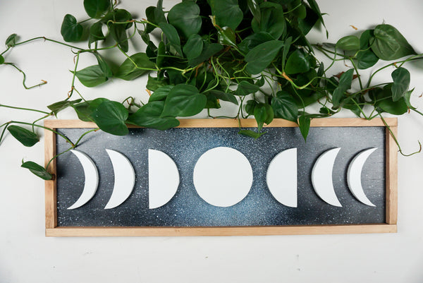 Starry Sky Moon Phases