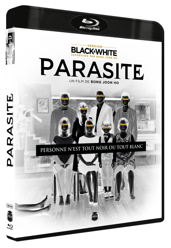 "Blu-Ray ""Parasite Black and White"""