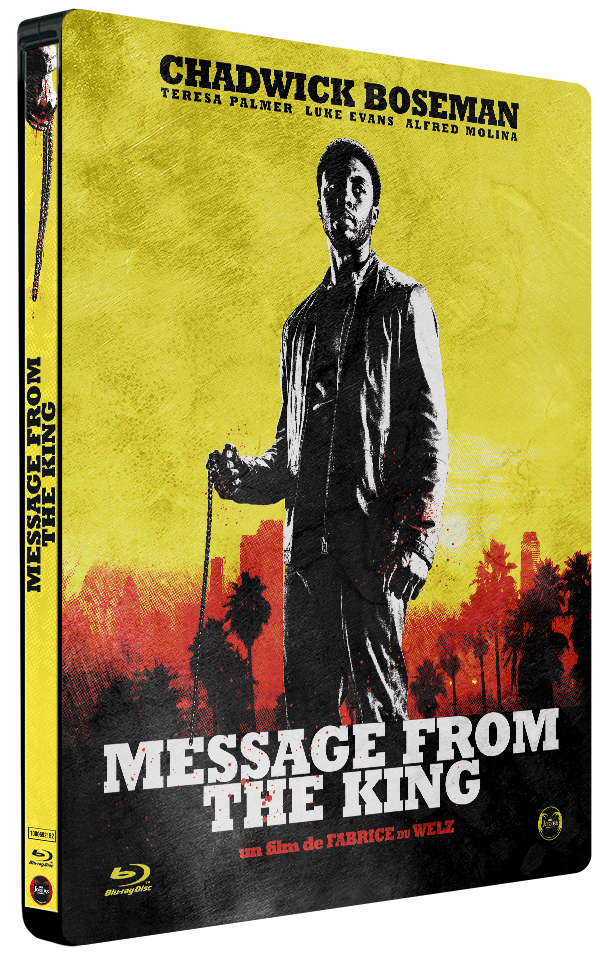 "Steelbook (Blu-Ray) ""Message From The King"""