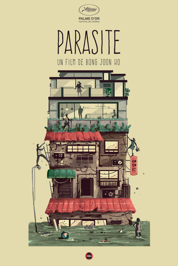 "Affiche collector ""Parasite"""