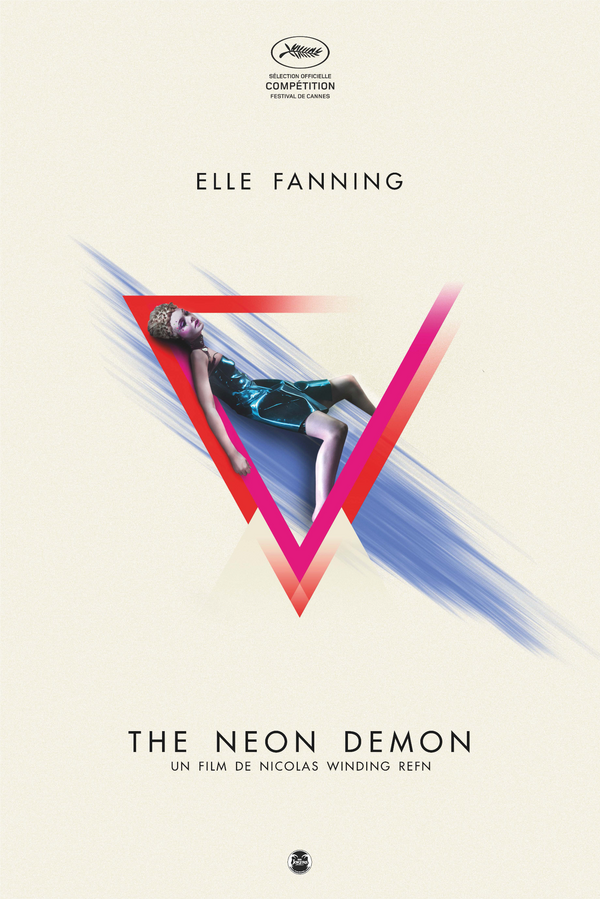 "Affiche collector ""The Neon Demon"""
