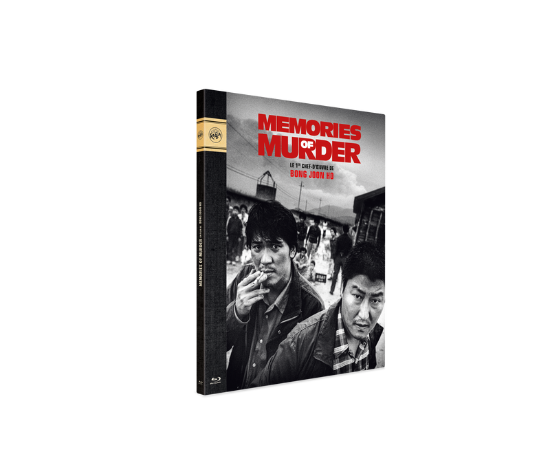 "Blu-Ray Digipack ""Memories of Murder"""