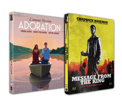 "PACK DU WELZ : Digipack collector ""Adoration"" + Steelbook ""Message From The King"""