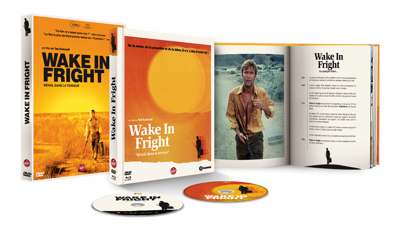 "Médiabook ""Wake in Fright"""