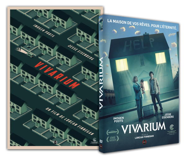 Vivarium : Affiche collector + DVD du film