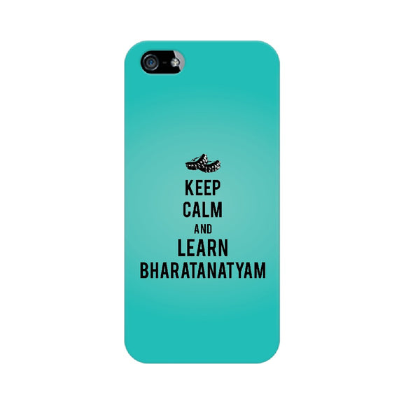 Keep Calm And Learn Bharatanatyam Phone Cover (Apple, Samsung, Vivo and OnePlus) - Madras Merch Market