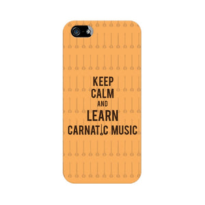 Keep Calm And Learn Carnatic Music Phone Cover  (Apple, Samsung, Vivo and OnePlus) - Madras Merch Market