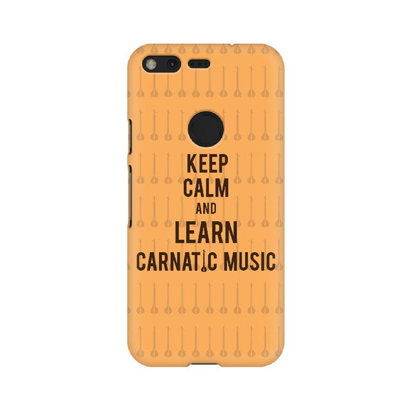 Keep Calm And Learn Carnatic Music Phone Cover  (Google Pixel, Sony Xperia, Oppo, Moto, Nokia, Huawei Honor and Xiaomi Redmi) - Madras Merch