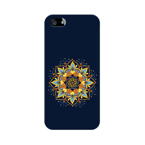 Tambura Mandala Phone Cover  (Apple, Samsung, Vivo and OnePlus) - Madras Merch Market