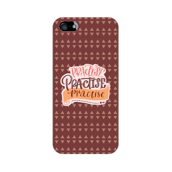 Practise Practise Practise Phone Cover (Apple, Samsung, Vivo and OnePlus) - Madras Merch Market