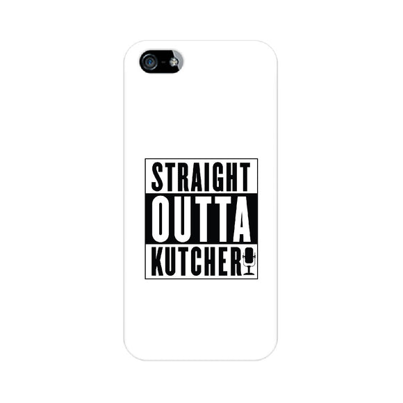 Straight Outta Kutcheri Phone Cover (Black text) (Apple, Samsung, Vivo and OnePlus) - Madras Merch Market