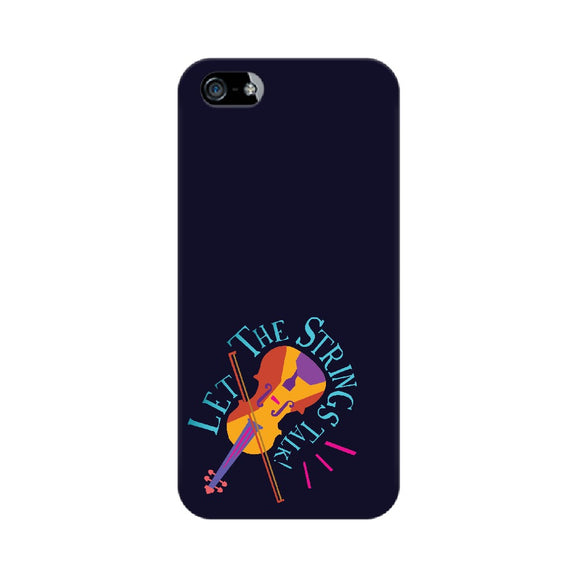 Let the Strings talk Colour-pop Phone Cover (Apple, Samsung, OnePlus and Vivo) - Madras Merch Market