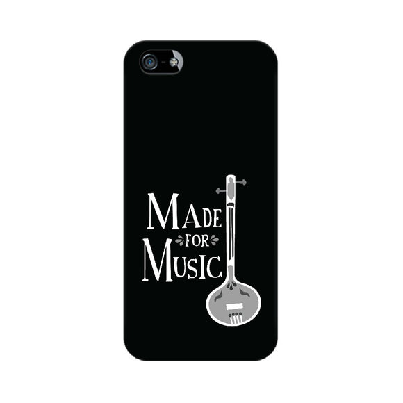 Made for Music Black and White Phone Cover (Apple, Samsung, Vivo and OnePlus) - Madras Merch Market