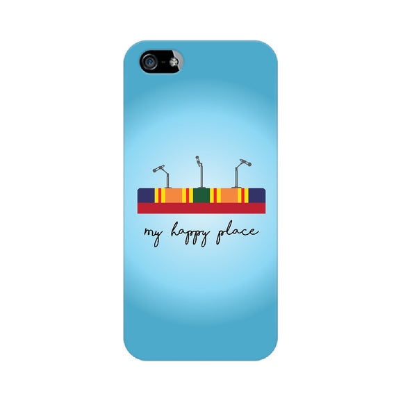 My Happy Place Phone Cover (Apple, Samsung, Vivo and OnePlus) - Madras Merch Market