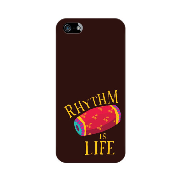 Rhythm is Life Colour-pop Phone Cover (Apple, Samsung, Vivo and OnePlus) - Madras Merch Market
