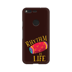 Rhythm is Life colour-pop Phone Cover (Google Pixel, Sony Xperia, Oppo, Moto, Nokia, Huawei Honor and Xiaomi Redmi) - Madras Merch Market