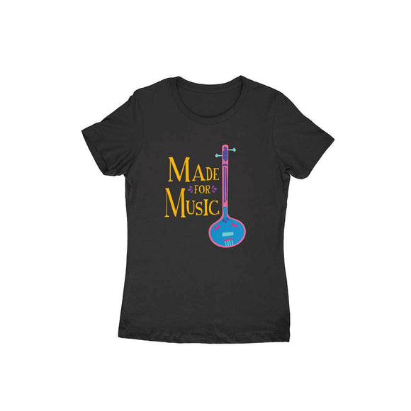 Made For Music colour-pop T-shirt - Women - Madras Merch Market