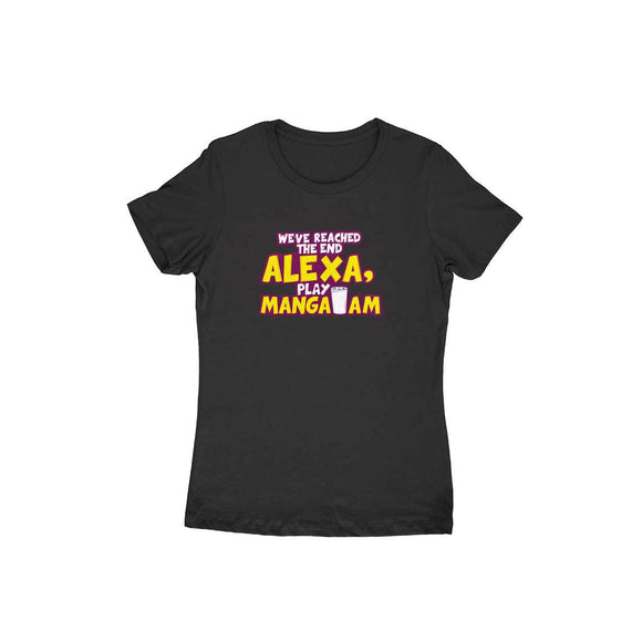 Alexa Play Mangalam T-shirt - Women - Madras Merch Market