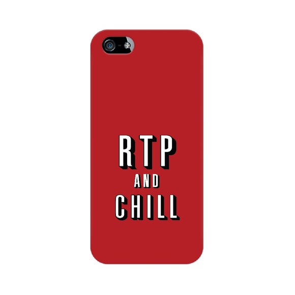 RTP and CHILL Phone Cover  (Apple, Samsung, Vivo and OnePlus) - Madras Merch Market