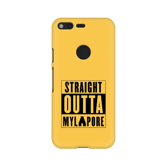 Straight Outta Mylapore Phone Cover (Google Pixel, Oppo, Sony Xperia, Nokia, Huawei Honor, Moto and Xiaomi Redmi) - Madras Merch Market