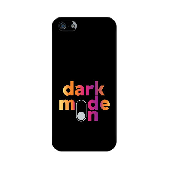 Dark Mode ON Phone Cover (Apple, Samsung, Vivo and OnePlus) - Madras Merch Market