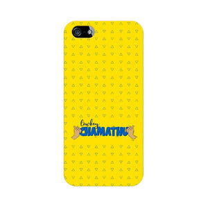 Lowkey Chamathu Phone Cover (Blue Text) (Apple, Samsung, Vivo and OnePlus) - Madras Merch Market