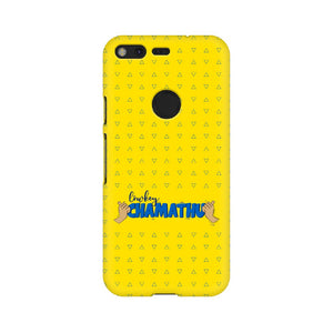 Lowkey Chamathu Phone Cover (Yellow Text) (Google Pixel, Oppo, Sony Xperia, Nokia, Huawei Honor, Moto and Xiaomi Redmi) - Madras Merch Market