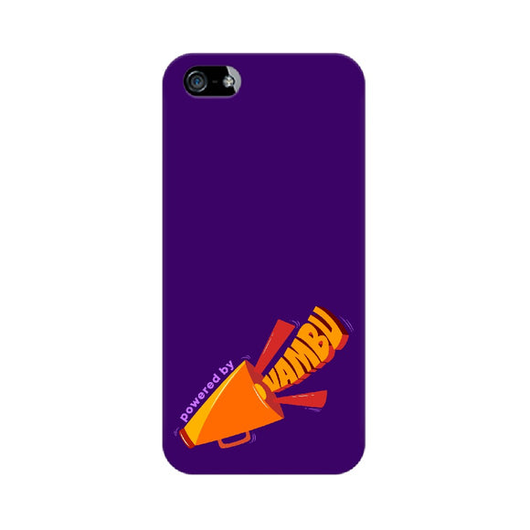 Powered By Vambu Phone Cover (Apple, Samsung, Vivo and OnePlus) - Madras Merch Market
