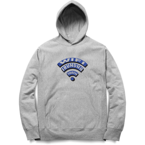 Wifi Irundha Varen Hoodie (Blue Text) - Madras Merch Market