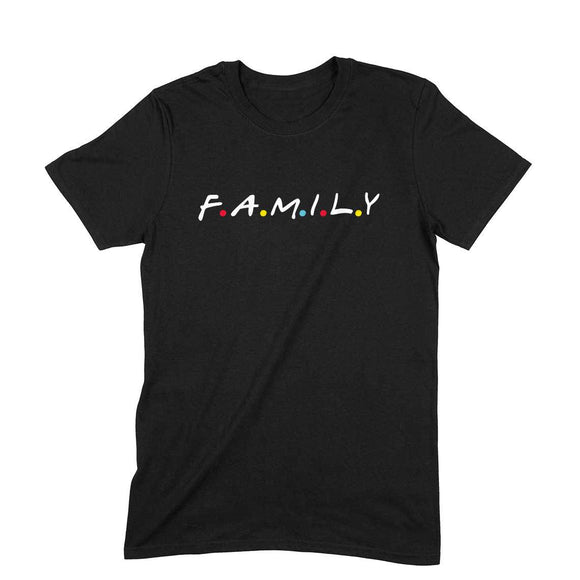 F.A.M.I.L.Y T-shirt (White Text) - Unisex - Madras Merch Market