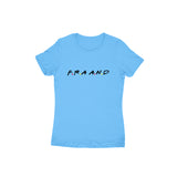 F.R.A.A.N.D T-shirt (Black Text) - Women - Madras Merch Market