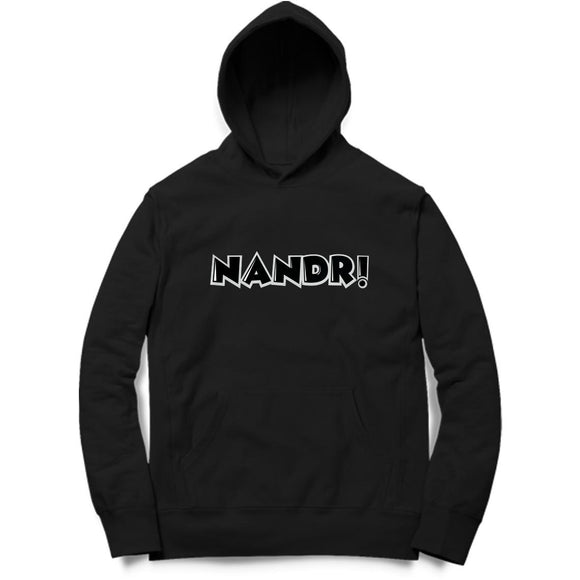 Nandri Hoodie (Black Text) - Unisex - Madras Merch Market